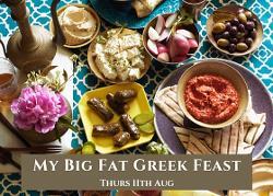 An image depicting My Big Fat Greek Feast
