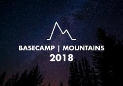 An image depicting BASECAMP Mountains 2018