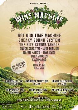 An image depicting Hot Dub Wine Machine - Brisbane