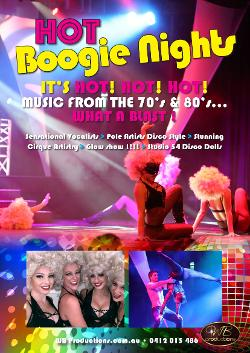 An image depicting Hot Boogie Nights