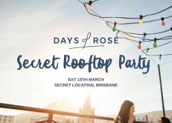 An image depicting Secret Rooftop Party