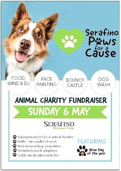 An image depicting Serafino Paws for a Cause Stall Holders 6.5.18
