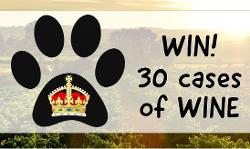 An image depicting RAFFLE TICKETS - Win 30 cases of Wine - Paws for a Cause 2018