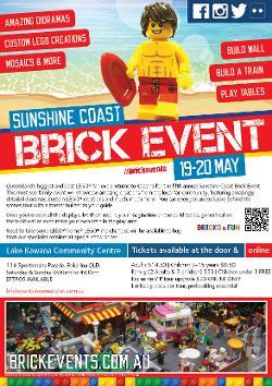 An image depicting Sunshine Coast Brick Event