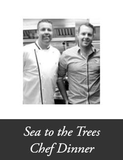 An image depicting Sea to the Trees Chef Dinner