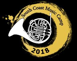 An image depicting South Coast Music Camp 2018
