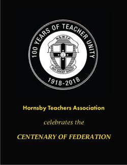 An image depicting Centenary of NSW Teachers Federation