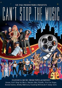 An image depicting Can't Stop The Music