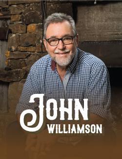 An image depicting John Williamson - The Butcherbird Tour