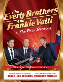 An image depicting The Everly Brothers and Frankie Valli
