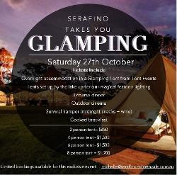 An image depicting Glamping @ Serafino