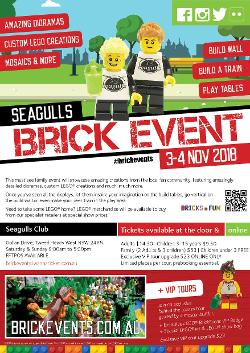 An image depicting Seagulls Brick Event