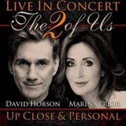 An image depicting The 2 of Us - Marina Prior and David Hobson