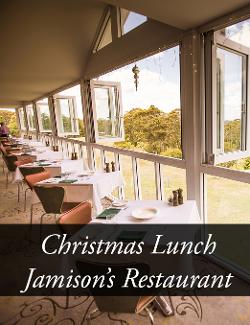 An image depicting Christmas Day Lunch - Jamison's Restaurant - 2019