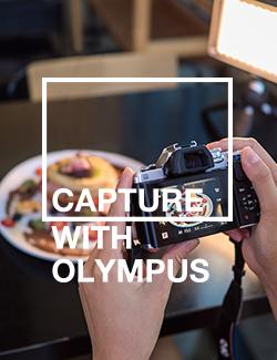 An image depicting Capture with Olympus: Food Styling and Photography Workshop