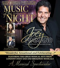 An image depicting Joey Fimmano in Music of the Night