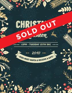 An image depicting Christmas Day Luncheon - SOLD OUT