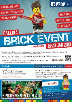 An image depicting BALLINA BRICK EVENT