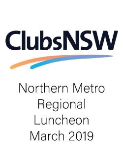 An image depicting ClubsNSW Northern Metro Regional Luncheon