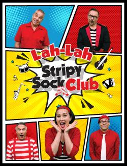 An image depicting Lah Lah: Stripy Sock Club