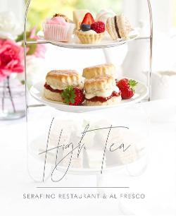 An image depicting Serafino Alfresco High Tea - Sun 11.08.19