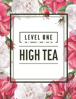 An image depicting Level One High Tea - 4th October