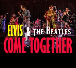 An image depicting ELVIS & The Beatles - Come Together