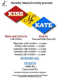 An image depicting Kiss Me Kate