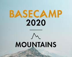 An image depicting BASECAMP Mountains 2020