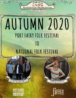 An image depicting Festival of Small Halls Autumn Tour 2020 - Port Fairy to the National