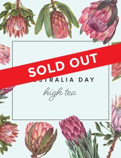 An image depicting SOLD OUT - Australia Day High Tea