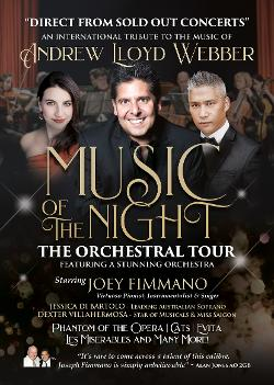 An image depicting Music of the Night The Orchestral Tour