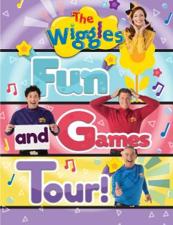 An image depicting The Wiggles - Fun and Games Tour!