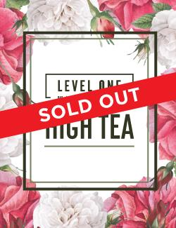 An image depicting SOLD OUT Level One High Tea - 8th March