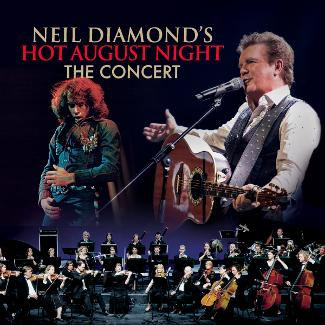 An image depicting Neil Diamond's Hot August Night