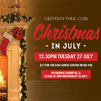 An image depicting Xmas In July @ CPC - 2021