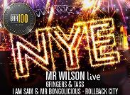 An image depicting BAR100 NYE 13-14