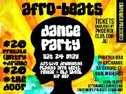 An image depicting Afro Beats Party