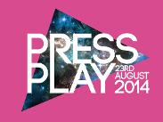 An image depicting PRESS PLAY