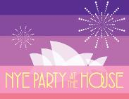 An image depicting NYE PARTY AT THE HOUSE 2014