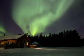 An image depicting NORTHERN LIGHTS