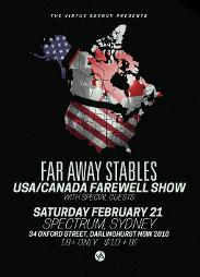 An image depicting FAR AWAY STABLES USA FAREWELL SHOW