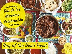 An image depicting Day of the Dead Feast